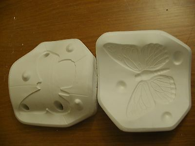 Slip Moulds for Pottery - Butterfly