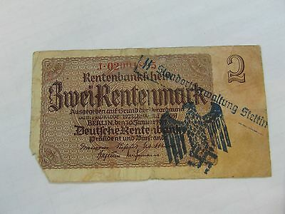 Germany occupation banknote WWII/WW2 38