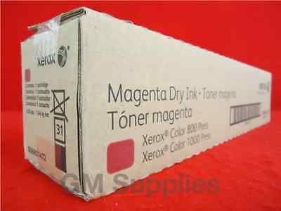 Xerox 006R01472 Magenta Toner Cartridge (6R1472) for 1000,800 Digital Color Pres