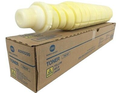 Konica Minolta A3VX230 (TN619Y) Yellow Toner  Cartridges C1060 C1070