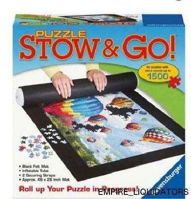 NEW - Ravensburger Puzzle Stow and Go - FOR PUZZLES UP TO 1500 PCS - SPACE SAVER