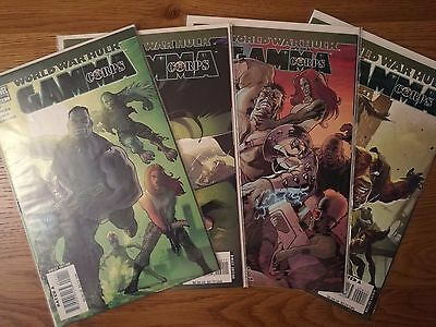 World War Hulk: Gamma Corps 1-4 (of 4)