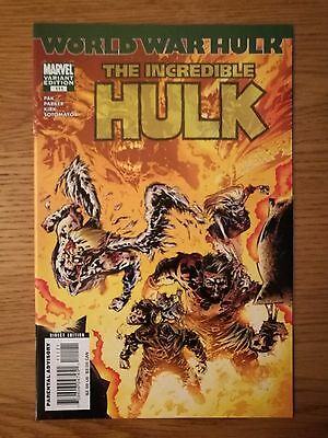 Incredible Hulk 111 Zombie Variant (World War Hulk) 2007
