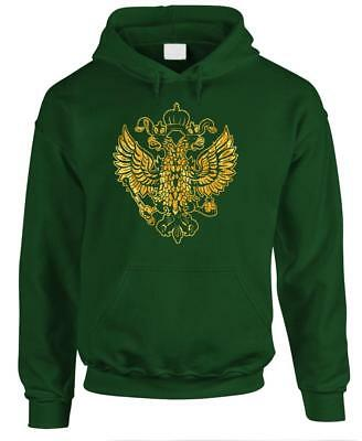 IMPERIAL RUSSIAN Eagle - Wilhelm Russia - Fleece Pullover Hoodie