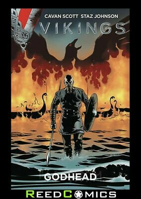 VIKINGS GRAPHIC NOVEL New Paperback Collects Issues #1-4 by Titan Comics