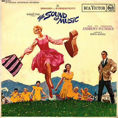 THE SOUND OF MUSIC Rodgers & Hammerstein Vinyl LP RCA RB 6616-UK MONO ULTRA RARE