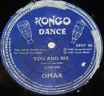 "OMAR * YOU AND ME * Classic Electro Funk Soul 12"" Vinyl"