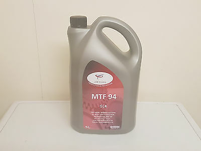 MTF94 Manual Transmission Fluid GL4 Spec 5Ltr Suits some Land Rover Applications