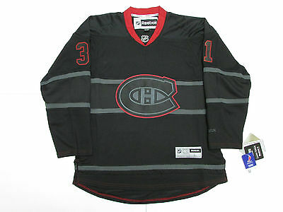 Carey Price Montreal Canadiens Limited Edition Black Ice Reebok Hockey Jersey