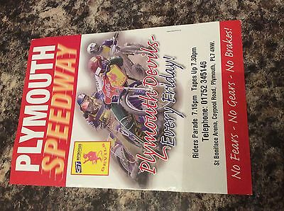 Old Plymouth Speedway Flyer