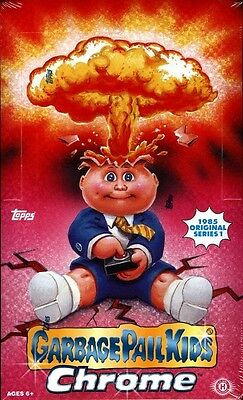 2013 Topps Garbage Pail Kids Chrome Series 1 Hobby Factory Sealed Box
