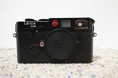 Leica M6 35mm Rangefinder Film Camera Body Only