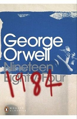 1984 Nineteen Eighty-Four George Orwell Penguin Modern Classics Paperback Book