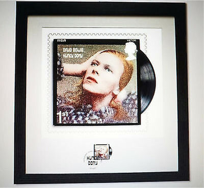 David Bowie SOLD OUT Hunky Dory Framed Print/Stamp Royal Mail Ltd Edition 950