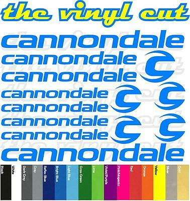Cannondale T1 Die-cut decal sheet. (stickers, cycling, mtb, bmx, road, bike)