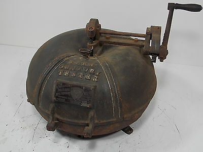 Antique Centrigugal 20Th Century Milk Tester Cast Iron Creamery Package Company