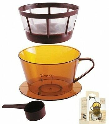 Kitchen Craft Le Xpress Coffee Filter And Spoon Set