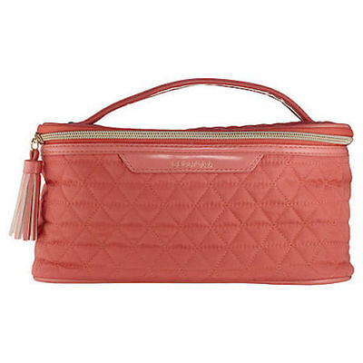LE *SEPHORA* Sunset Daydream Coral VACATIONER Makeup Bag Case! SOLD OUT!