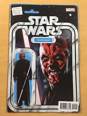 MARVEL Comics DARTH MAUL #1 STAR WARS Action Figure VARIANT J Tyler Christopher!