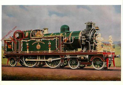 Postcard: TILBURY AND SOUTHEND RAILWAY NO. 80 DECORATED FOR CORONATION, GEORGE V
