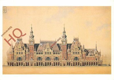 Postcard: Amsterdam, Design For The Beurs (Bourse)