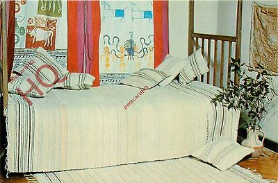 Postcard: Cyprus, Traditional Hand-Woven Bed Covers