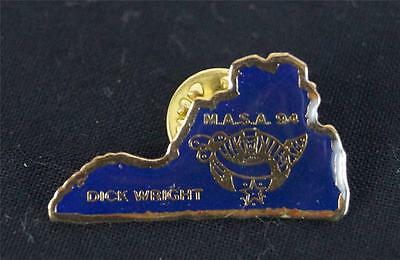 Vintage Dick Wright M.A.S.A. Virgini Shriners Pin Pinback 1994
