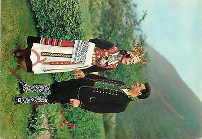 Postcard: Norway, Bridal Couple From Hardanger