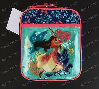 DISNEY Store LUNCH Tote ELENA of AVALOR School Box 2017 NWT