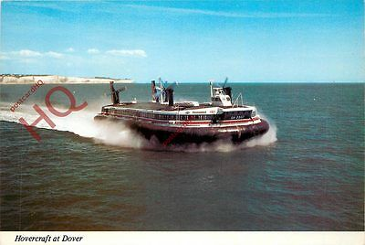 Postcard: HOVERCRAFT AT DOVER, SEASPEED SUPER-4