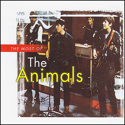 THE ANIMALS - MOST OF CD ~ GREATEST HITS / BEST ~ ERIC BURDON 60's *NEW*