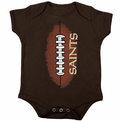 New Orleans Saints Baby Infant Football Creeper (FREE SHIPPING) 6-9 month