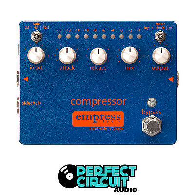 Empress Effects Compressor Analog Pedal EFFECTS - DEMO - PERFECT CIRCUIT
