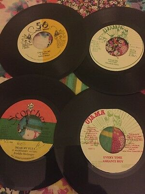 Collection Of 15 Reggae Singles 7""