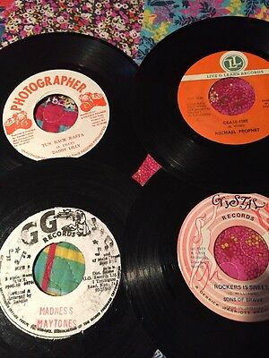 "Reggae Singles For Sale, 15 7"" Singles"