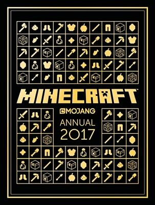 The Official Minecraft Annual 2017 by Mojang AB (Hardback)