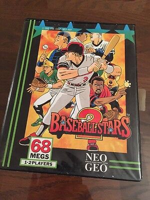 Baseball Stars 2 USA Dogtag For The Neo Geo Aes