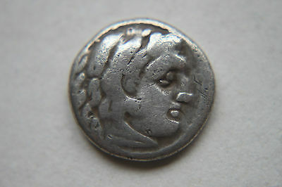 ANCIENT GREEK SILVER DRACHM ALEXANDER the GREAT 3rd CENTURY BC