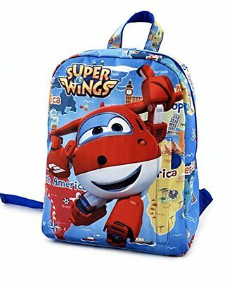 Super Wings U94950 MC - Zaino Medio Super Wings, Multicolore