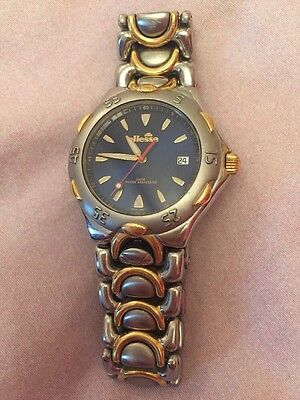 ellesse Vintage Gold And Silver Watch