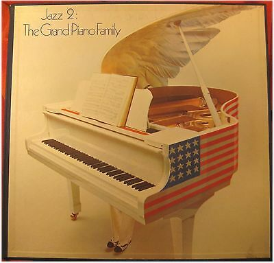 Jazz 2, The Grand Piano Family, 1976, VG/VG+, 5-LP Box (5413)