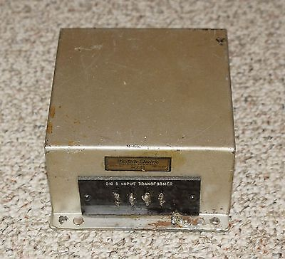 Early Silver Western Electric 210D Input Transformer