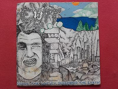 """EXIT 13 """"Spare The Wretch, Surrender The Earth"""" 7""""- single 1991 Brutal Truth"""