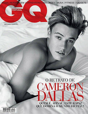 Gq Portugal Cameron Dallas January February 2017 Gentleman Quarterly New