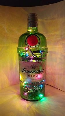 Illuminated liquor bottle Tanqueray Crown Royal Rum Chata