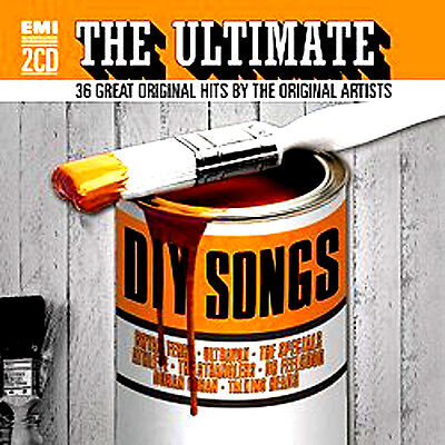 Ultimate DIY Songs NEW 2 CD 36 GREATEST HITS ORIGINAL ARTISTS 70's 80's 90's +
