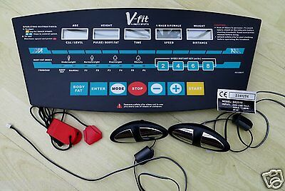 V-Fit Beny Treadmill Pst 04 Dk2510 Main Console Control Board Plus Parts