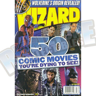 Wizard The Comic Magazine #118 Vf Cover B