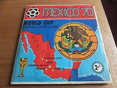 Mexico  70 world cup football stars album by Panini
