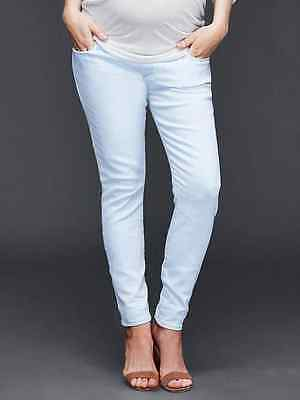 New Gap Maternity 1969 True Skinny Ankle Jeans SIZE 2 (26) Demi Panel 165322
